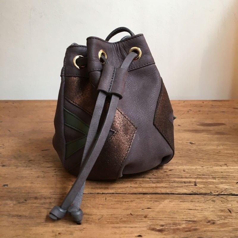 Petit sac seau avec bandoulière NAHIA