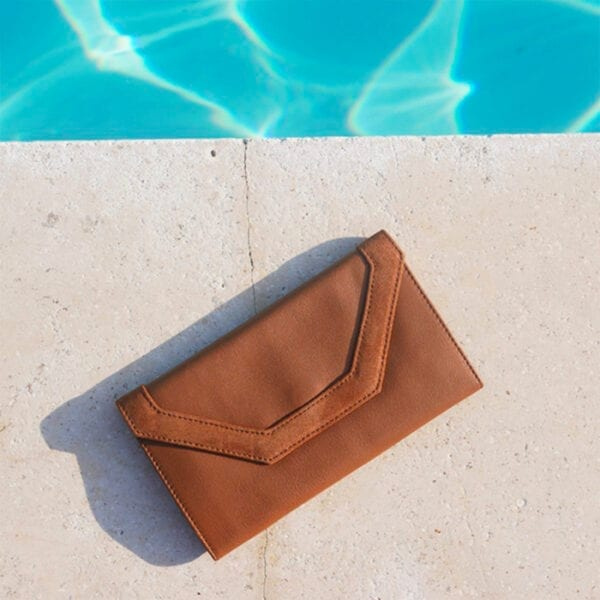 Grand portefeuille à rabat LEO