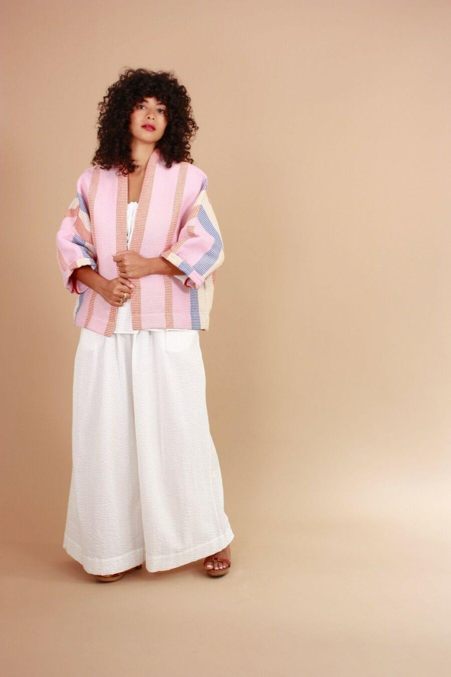 Veste Kimono Ada Nuit