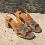 Sandales N°652 GOLD - Rivecour